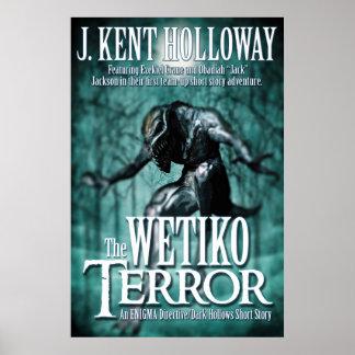 El poster del terror 24x36 de Wetiko Póster