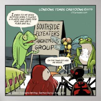 El poster divertido anónimo 12-Step del Anteater