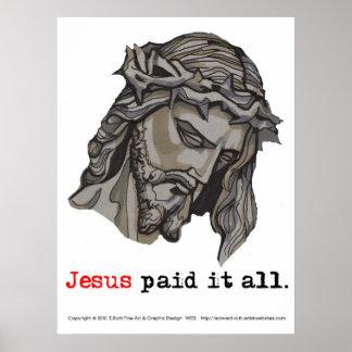 El poster lo pagó todo (salvador 3) póster