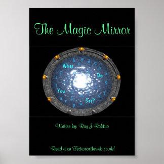 El poster mágico del espejo 5x7