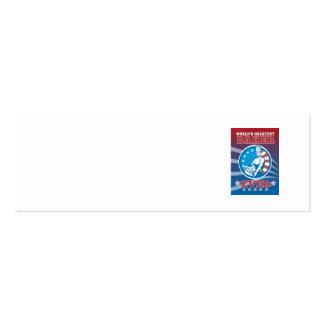 El poster más grande de la tarjeta de felicitación tarjeta de negocio