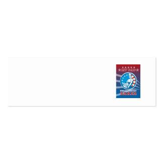 El poster más grande de la tarjeta de felicitación tarjetas de visita