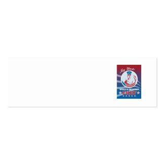 El poster más grande de la tarjeta de felicitación plantillas de tarjetas de visita
