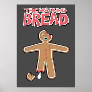 El poster muerto del hombre de pan de jengibre que