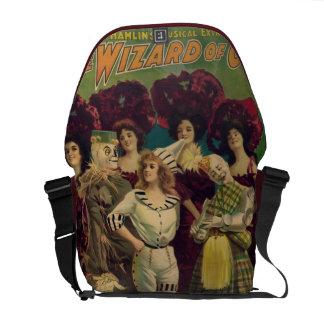 El poster musical 1903 del vintage de mago de Oz Bolsas De Mensajería