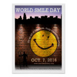 El poster oficial 2016 de Day® de la sonrisa del