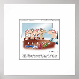 El poster PASADO del dibujo animado del ROLLO