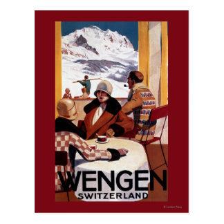 El poster promocional del club en declive postales