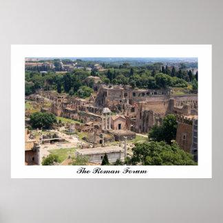 El poster romano del foro