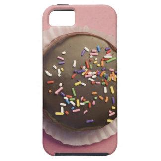El postre hecho en casa del chocolate con asperja iPhone 5 fundas