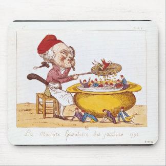 El pote de la purificación del Jacobins, 1793 Alfombrilla De Raton
