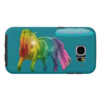 ¡El potro del arco iris que Samsung le encajona Fundas Samsung Galaxy S6