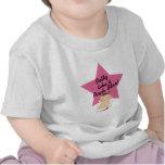 El Potty tiene gusto de un chica de la estrella de Camiseta