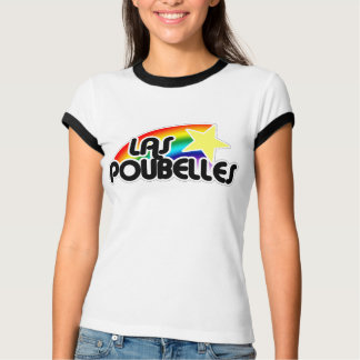 El Poubelle hermana el logotipo de Rollergirl Playeras