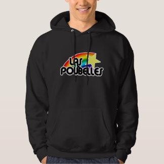 El Poubelle hermana el logotipo de Rollergirl Pulóver Con Capucha