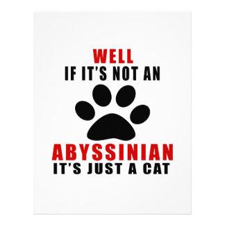 EL POZO SI NO ES UN ABISINIO ÉL ES APENAS UN CAT MEMBRETE