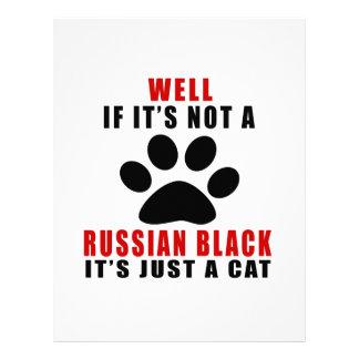 EL POZO SI NO ES UN NEGRO RUSO ÉL ES APENAS UN CAT PLANTILLAS DE MEMBRETE