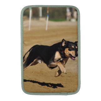 el practicar de la agilidad del perro funda para macbook air