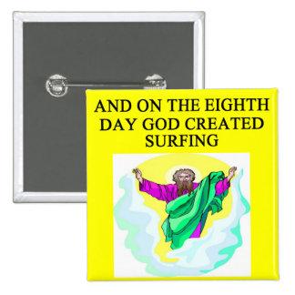 el practicar surf creado dios pins