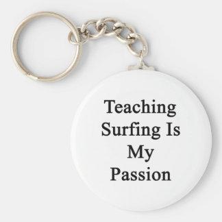 El practicar surf de enseñanza es mi pasión