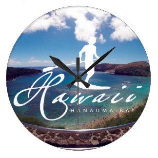 El practicar surf de Hawaii de la hawaiana Relojes