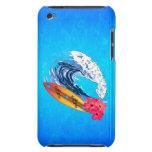 El practicar surf de Hawaii iPod Case-Mate Cárcasa