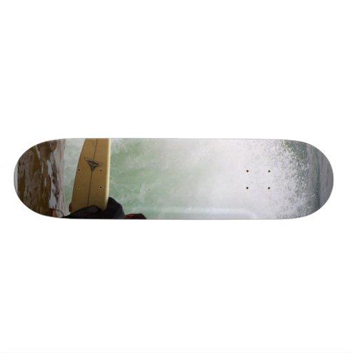El practicar surf de la persona que practica surf patin personalizado