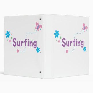 """El practicar surf del alboroto del jardín carpeta 1"""""""
