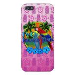 El practicar surf del tiempo de la isla iPhone 5 fundas