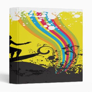 el practicar surf en los arco iris notebook-01