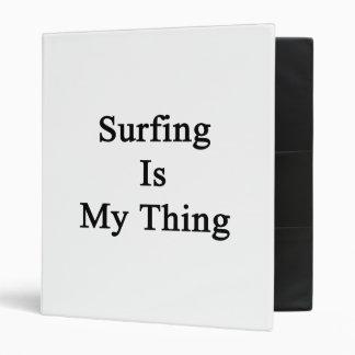 El practicar surf es mi cosa