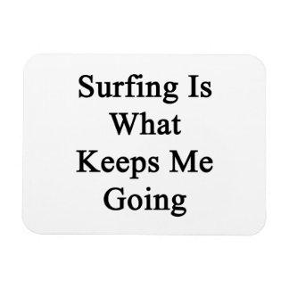 El practicar surf es qué me guarda el ir iman de vinilo