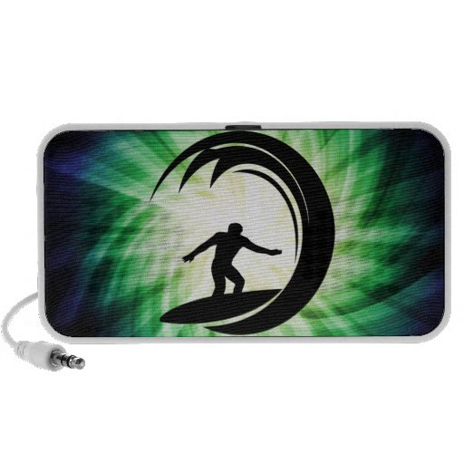 El practicar surf fresco iPhone altavoz