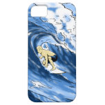 El practicar surf funda para iPhone 5 barely there