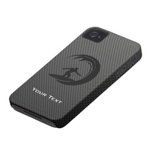 El practicar surf liso iPhone 4 Case-Mate protector