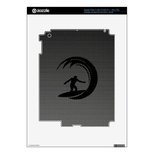 El practicar surf liso iPad 3 skins