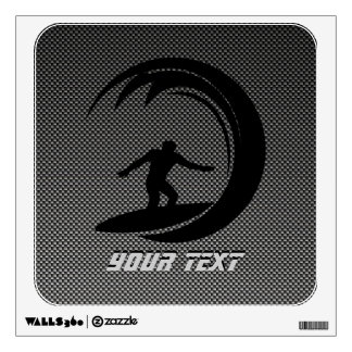 El practicar surf liso vinilo adhesivo