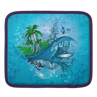 El practicar surf mangas de iPad