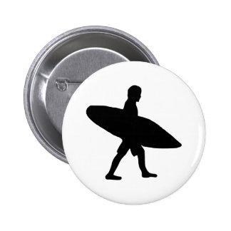 El practicar surf - persona que practica surf pins