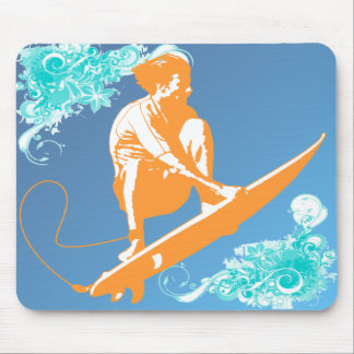 El practicar surf tapetes de ratón