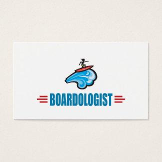 El practicar surf tarjetas de visita