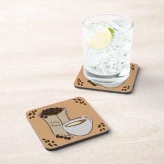 El práctico de costa de la bebida de la taza de posavaso