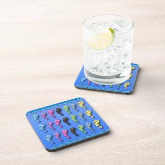El práctico de costa de la bebida de los Seahorses Posavasos De Bebida