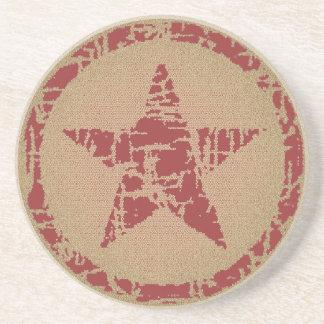 El práctico de costa, estrella en círculo, condime posavasos personalizados