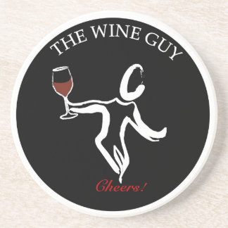 El práctico de costa famoso del logotipo del indiv posavaso para bebida