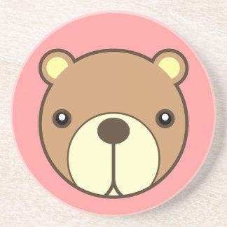 El práctico de costa más estimado del bebé del oso posavasos para bebidas