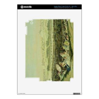El prado en San Isidro, 1788 (aceite en lona) Pegatina Skin Para iPad 3