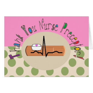 El Preceptor de la enfermera le agradece la Tarjeta De Felicitación