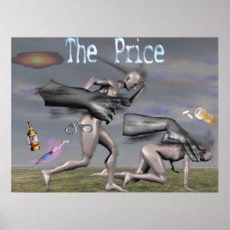 El precio póster