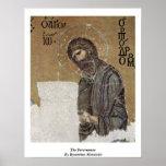 El precursor del fabricante de mosaicos bizantino impresiones